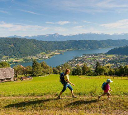 Ossiachersee drauradweg in Oostenrijk