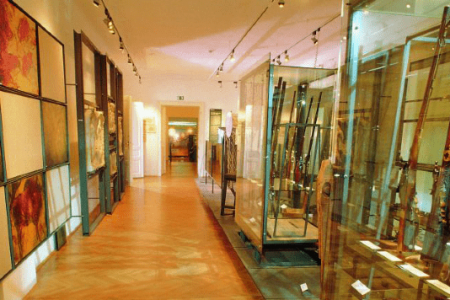 Het jachtmuseum in Ferlach