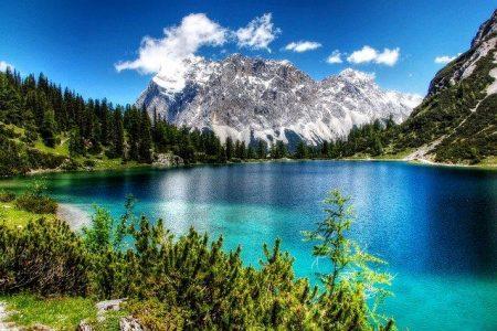 Oostenrijk Drauradweg meer