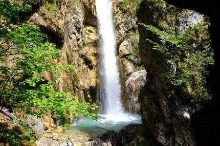 tscheppaschlucht watervallen in Karinthië